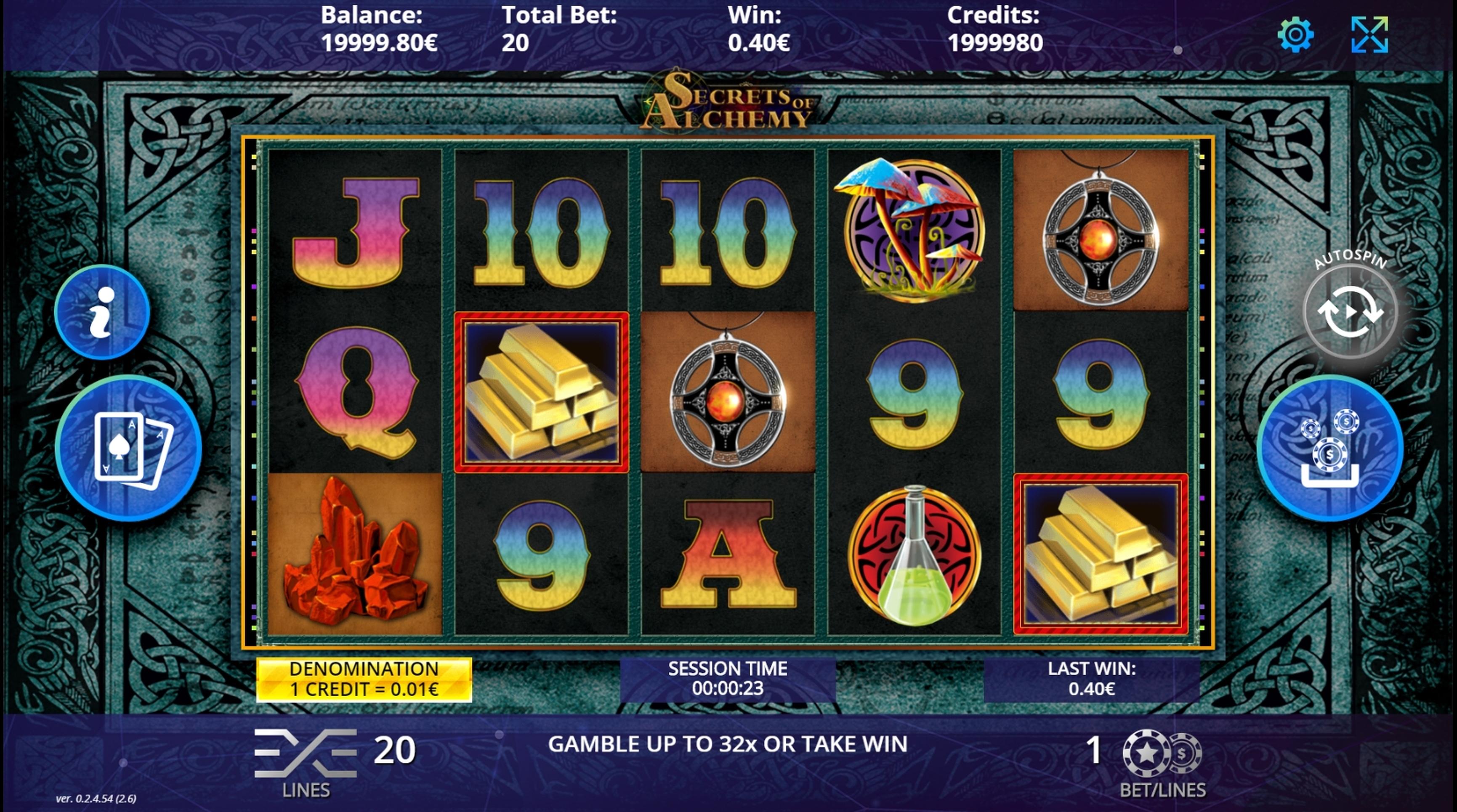 Secrets of Alchemy Slot Machine