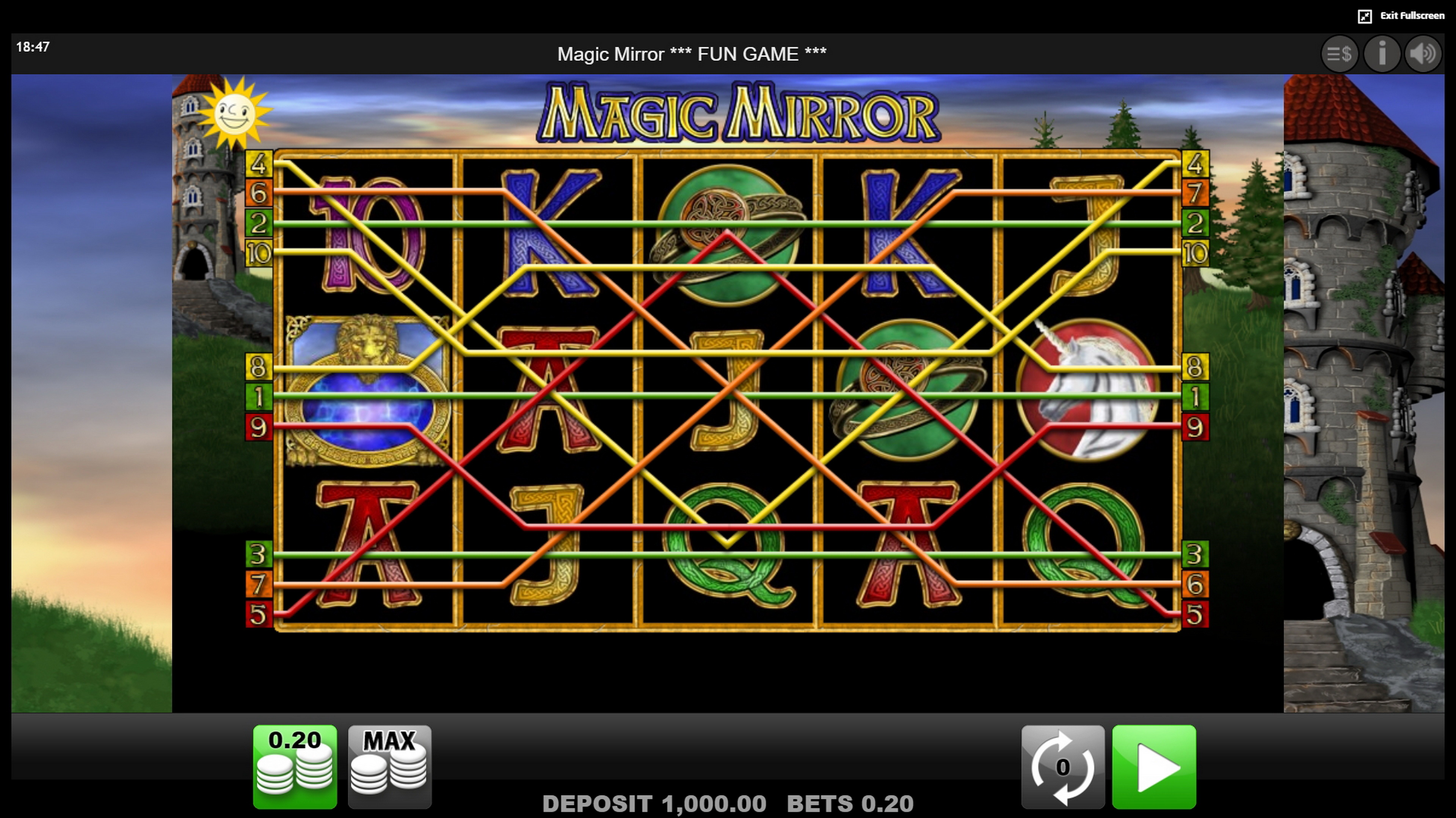 Magic Mirror Slot Machine