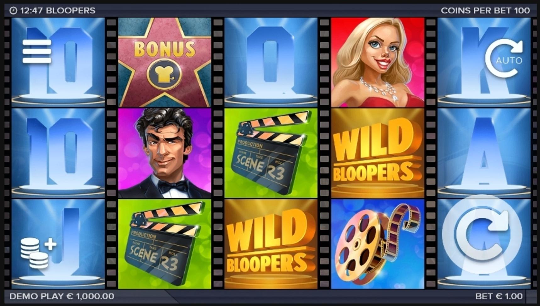 Bloopers Slot Machine Demo