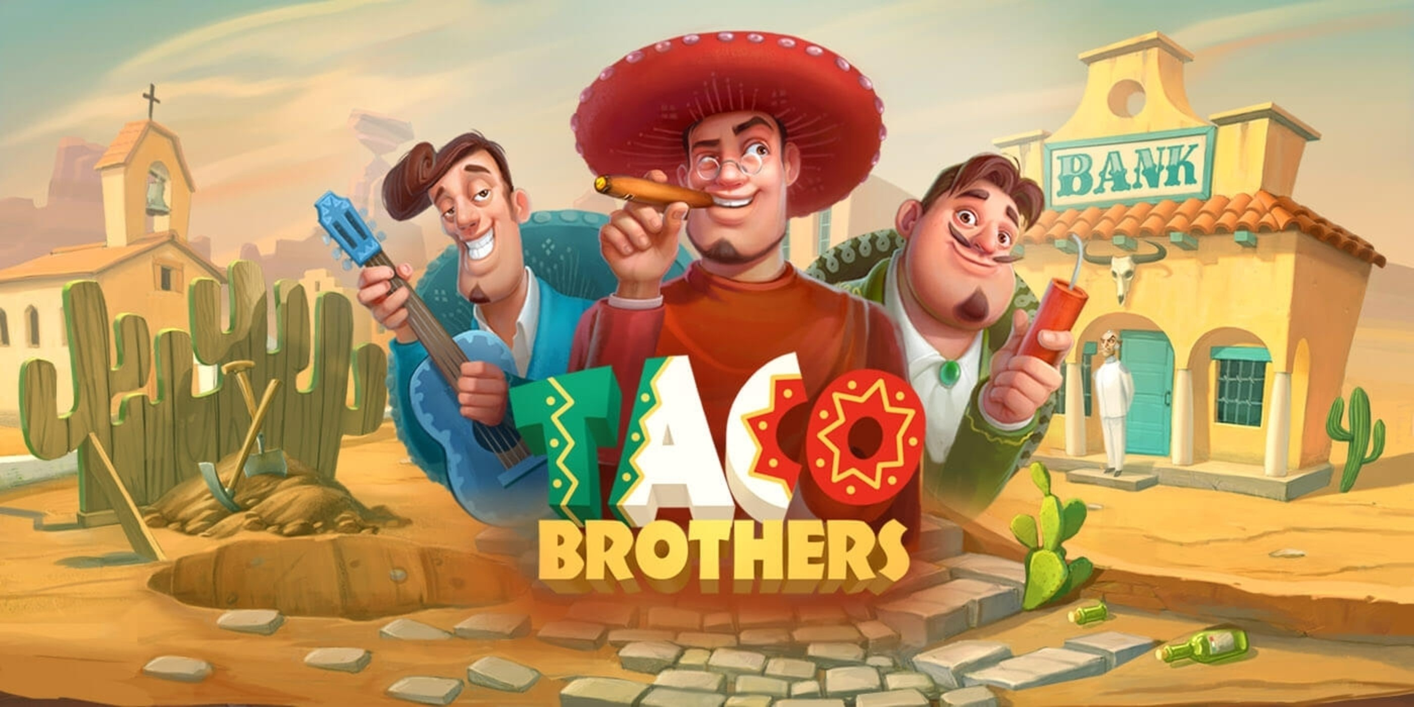 The Taco Brothers Online Slot Demo Game by ELK Studios
