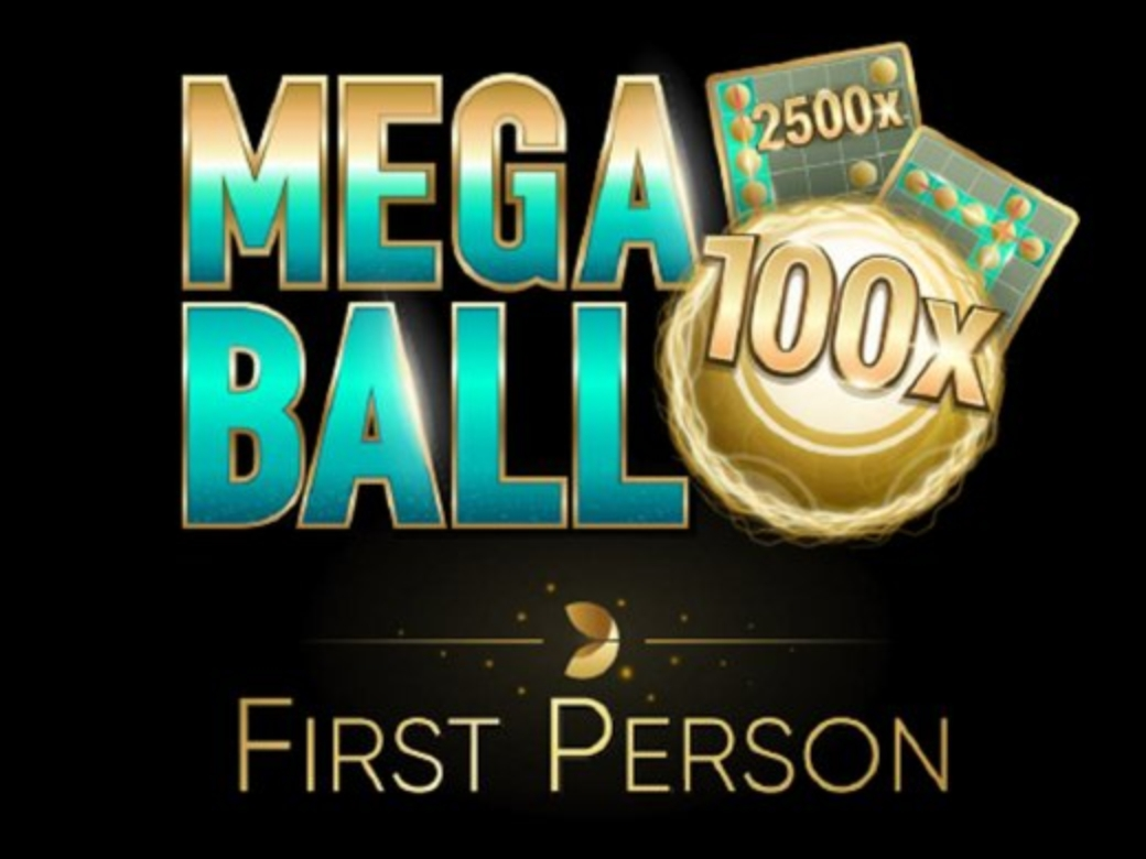 The Mega Ball First Person Online Slot Demo Game by Evolution Gaming