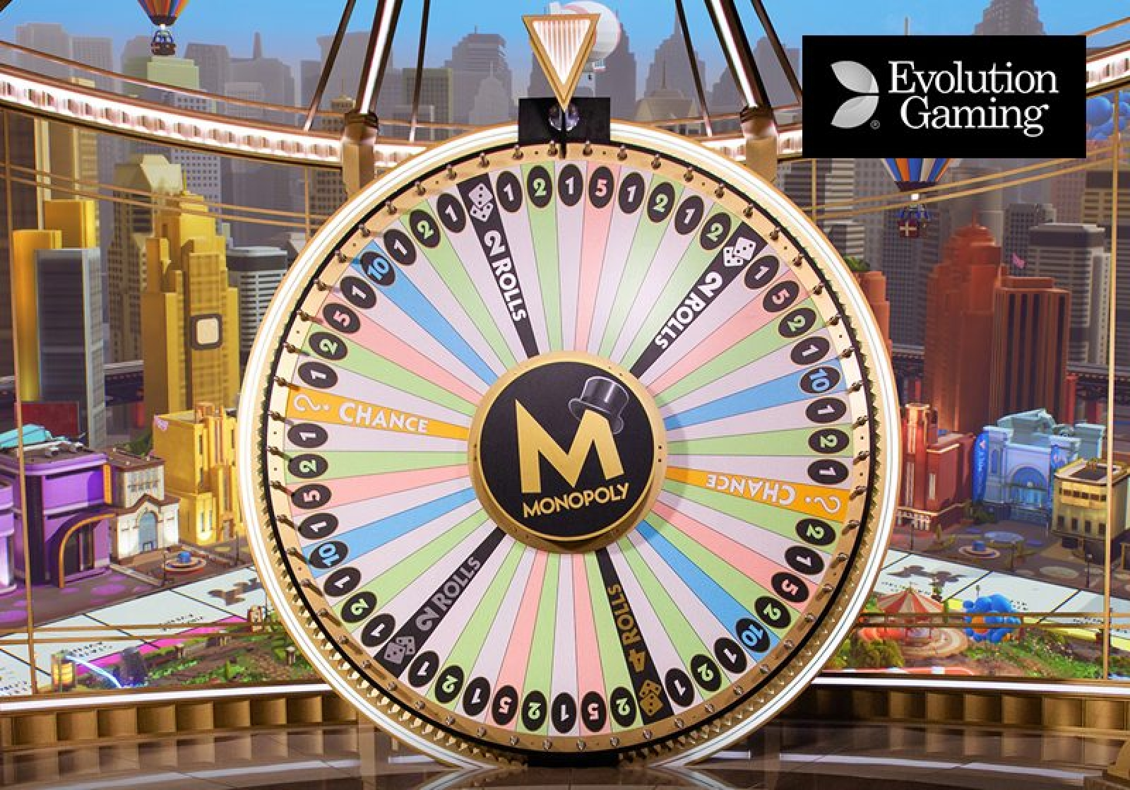 Monopoly Live	 Online Slot Demo Game by Evolution Gaming