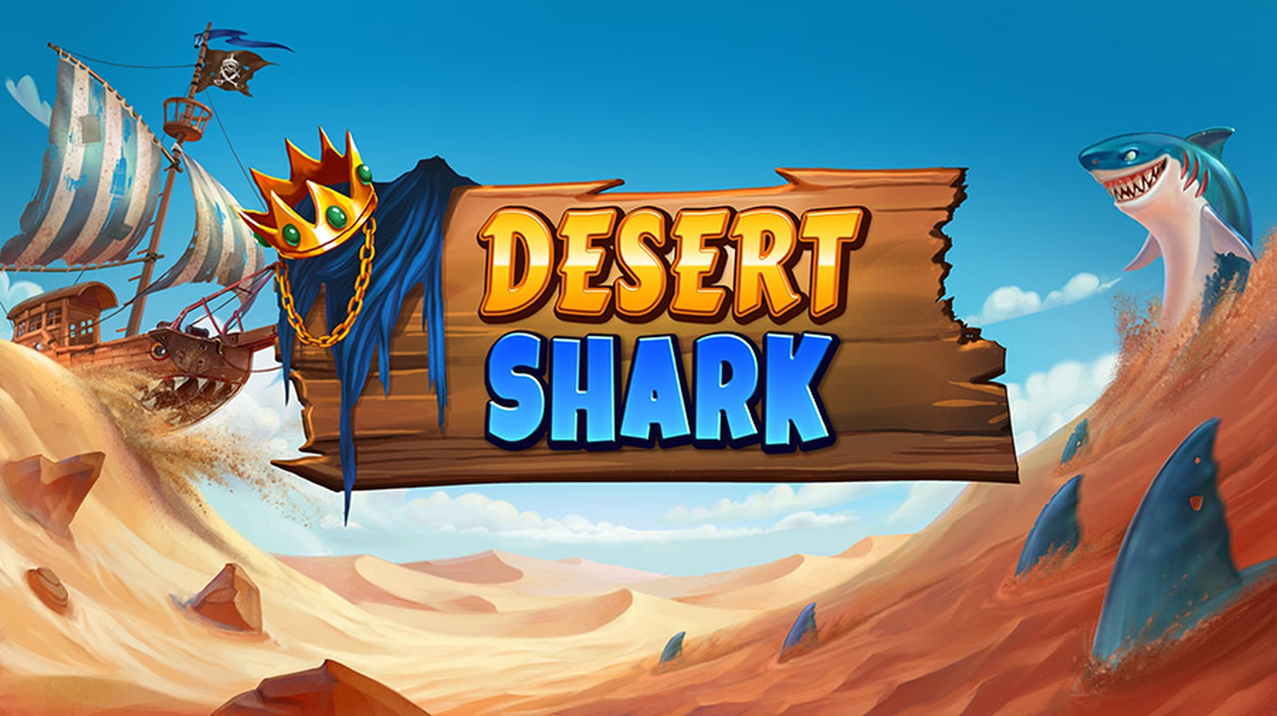 Desert Shark Online Slot Demo Game by Fantasma Games