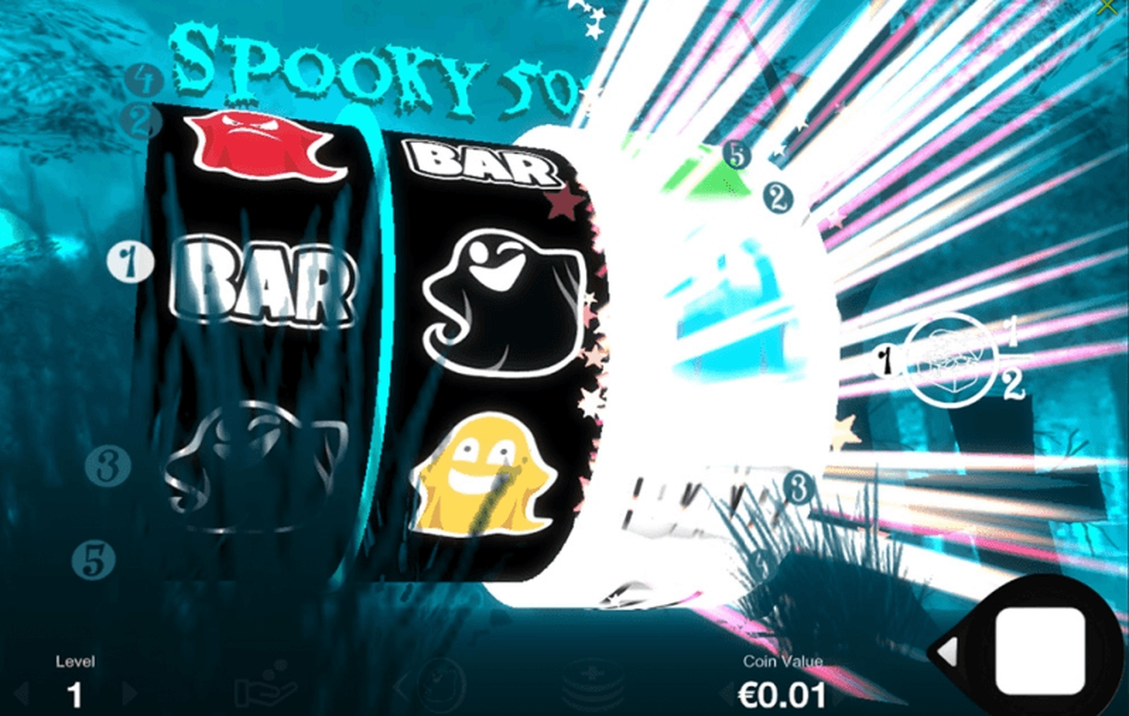Spooky 5000 Online Slot Demo Game by Fantasma Games