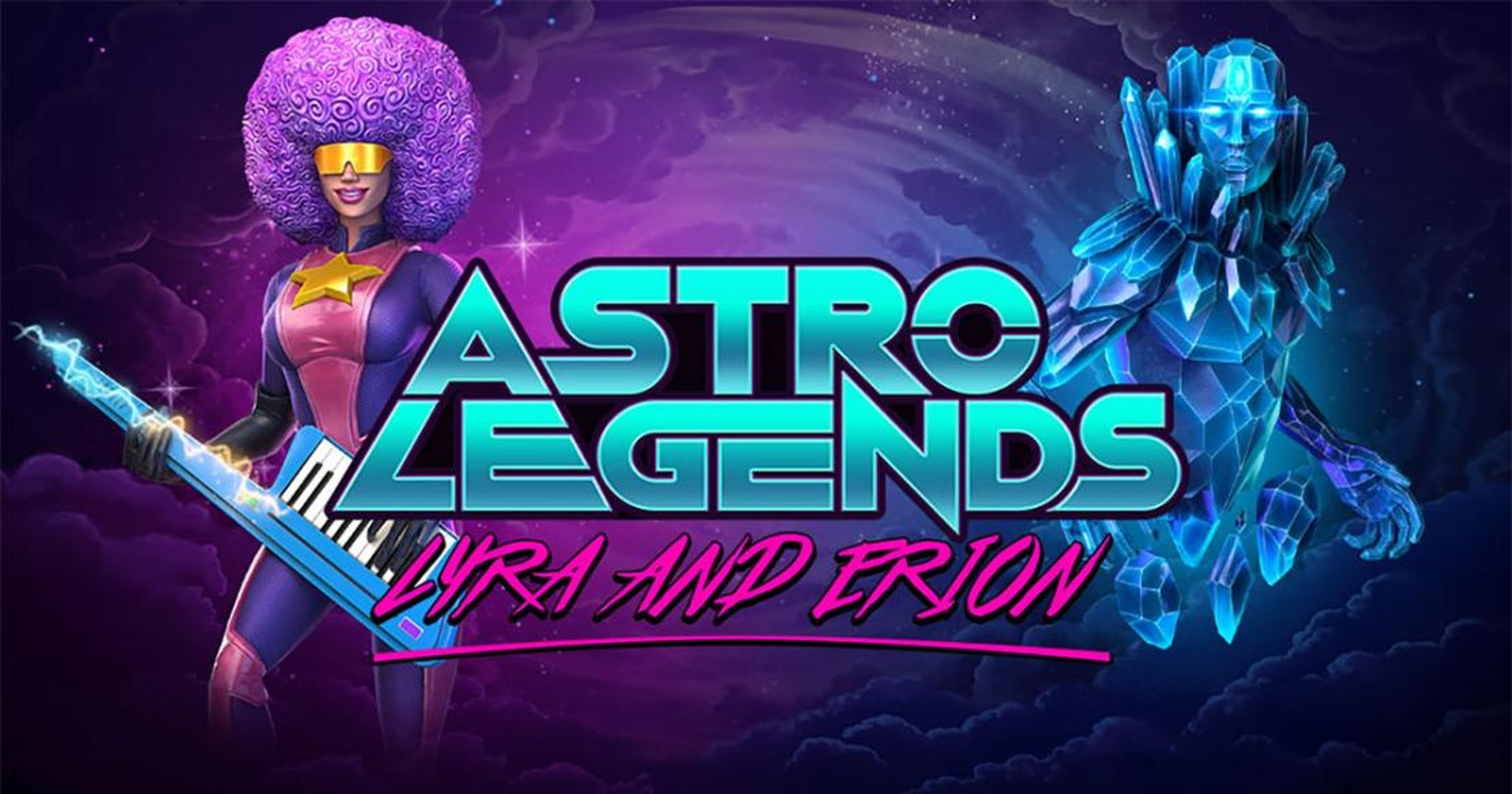 Astro Legends: Lyra and Erion Online Slot Demo Game by Foxium