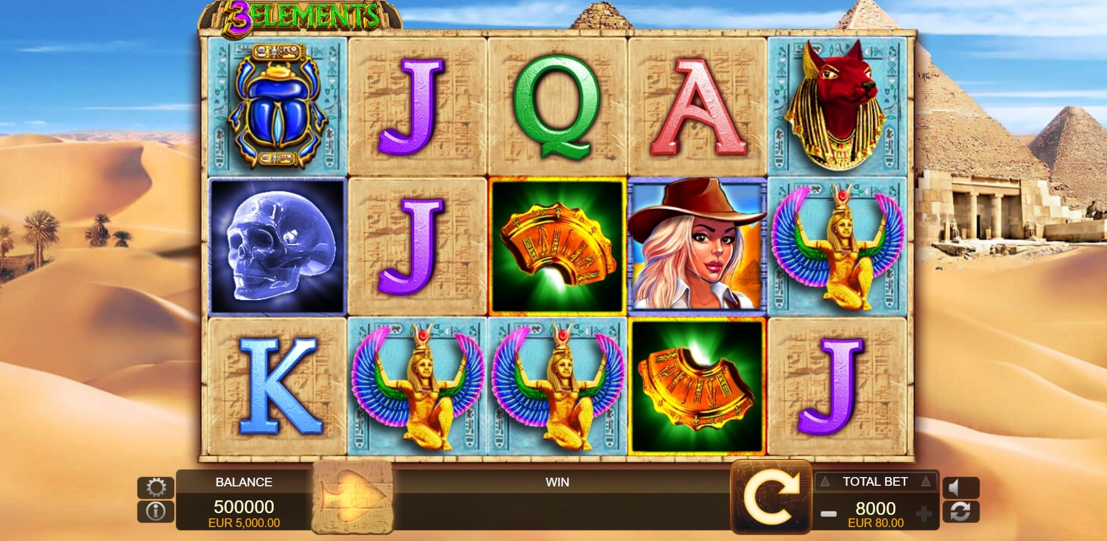 3 elements fuga gaming casino slots money strategy