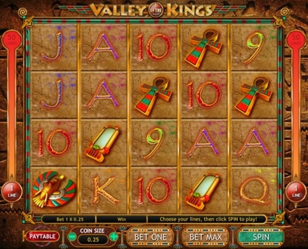 Valley of the Kings Online Slot Demo Game by Gamesys