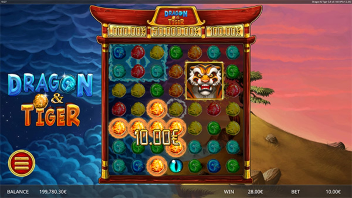 The Dragon And Tiger (Ganapati) Online Slot Demo Game by Ganapati