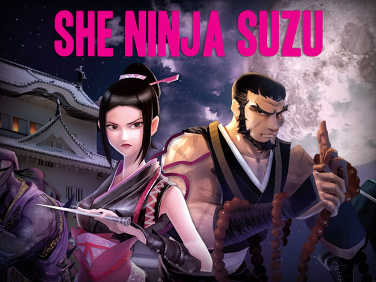 The She Ninja Suzu Online Slot Demo Game by Ganapati