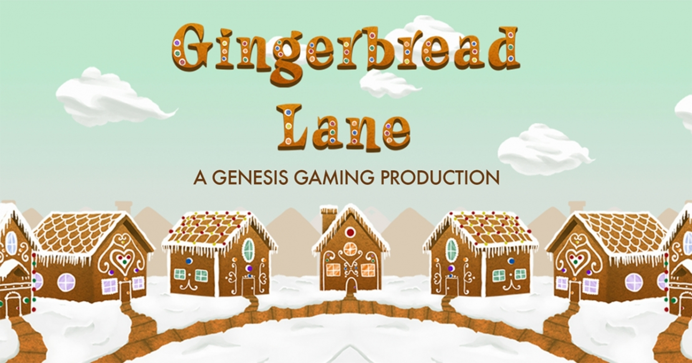 Gingerbread Lane Online Slot Demo Game by Genesis Gaming