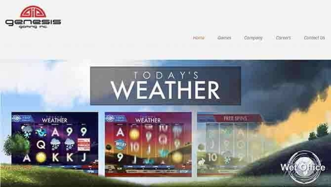 Today's Weather Online Slot Demo Game by Genesis Gaming