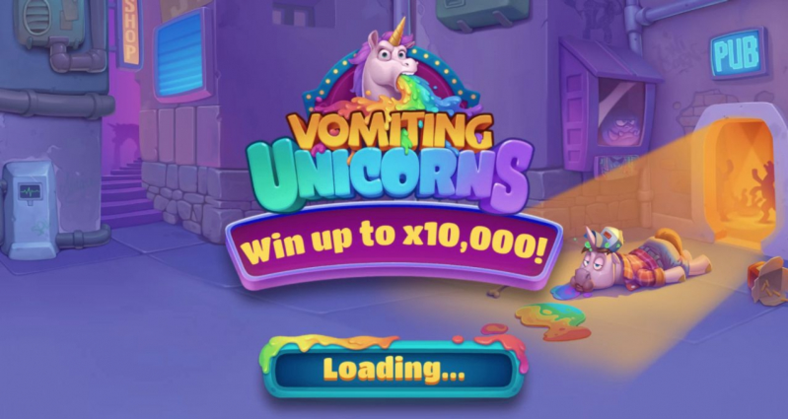 Vomiting Unicorns Online Slot Demo Game by Gluck Games