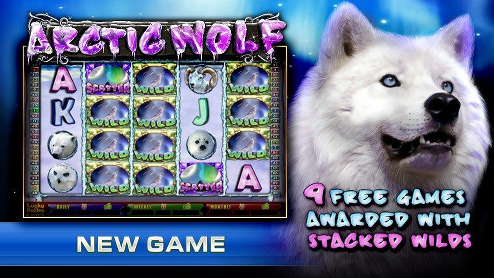 The Arctic Wolf Online Slot Demo Game by GMW