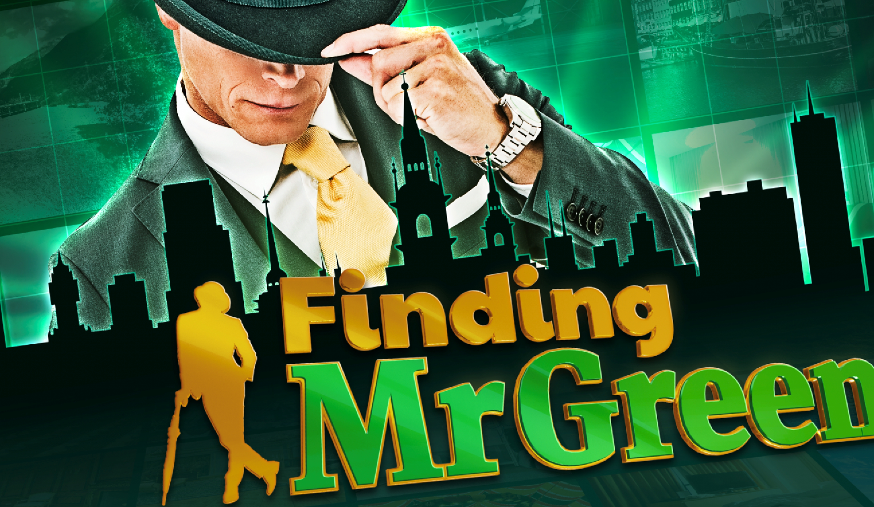 The Finding Mr Green Online Slot Demo Game by Green Jade Games