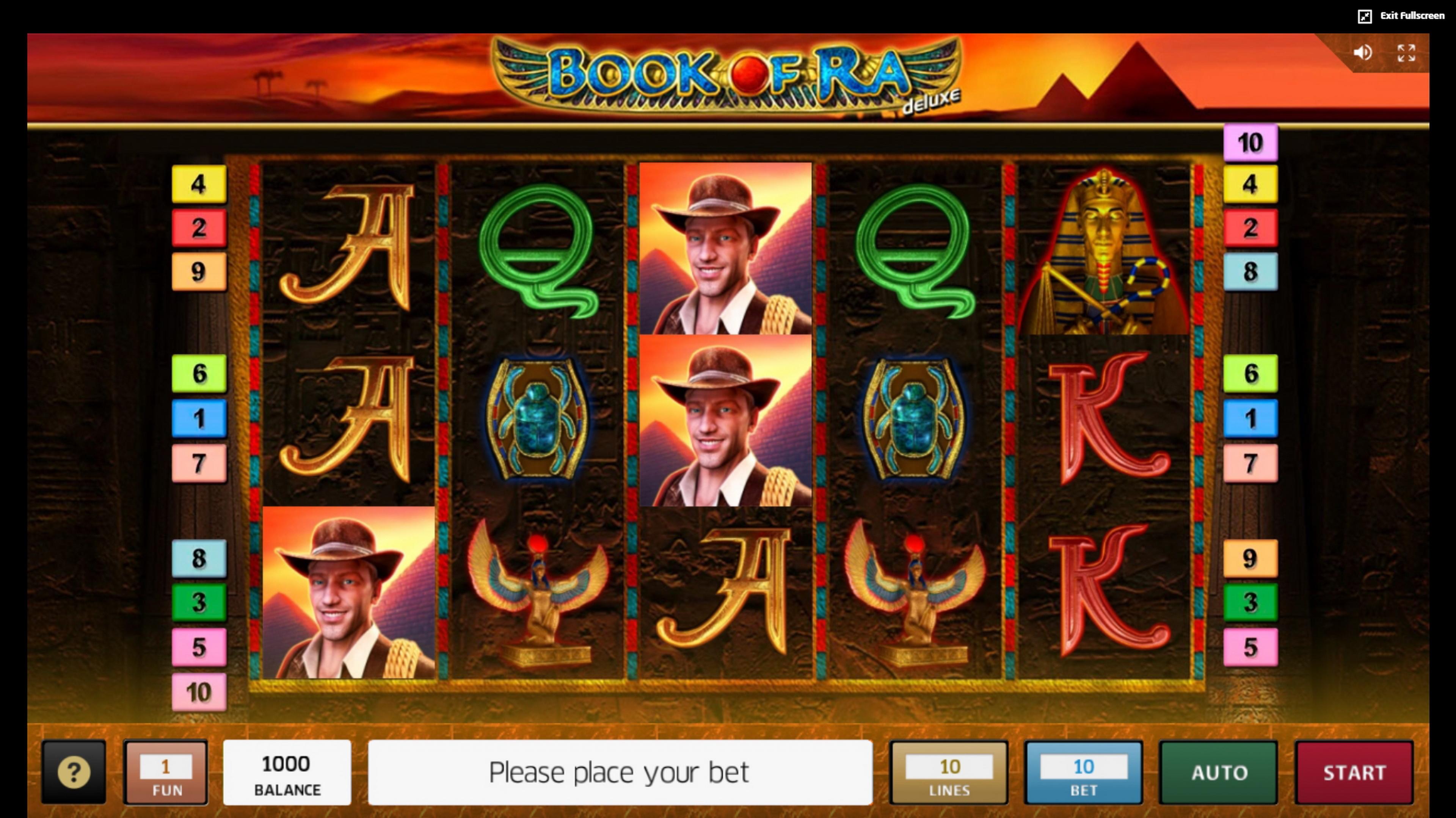 X Slot Book Of Ra Demo