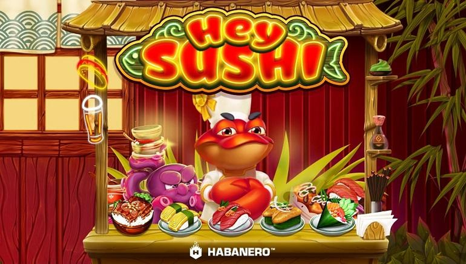 Hey Sushi Online Slot Demo Game by Habanero