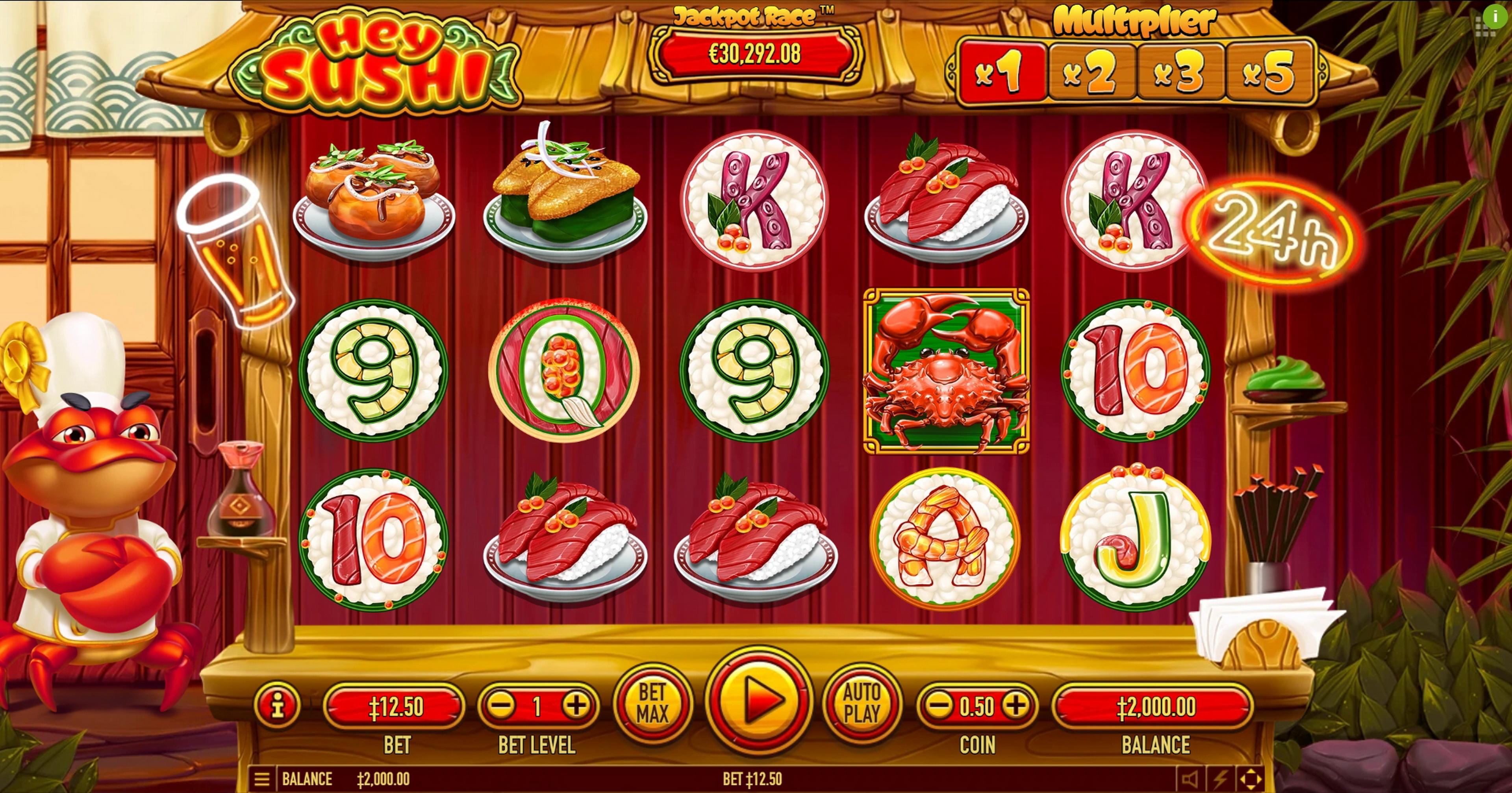 Hey Sushi Slot Machine