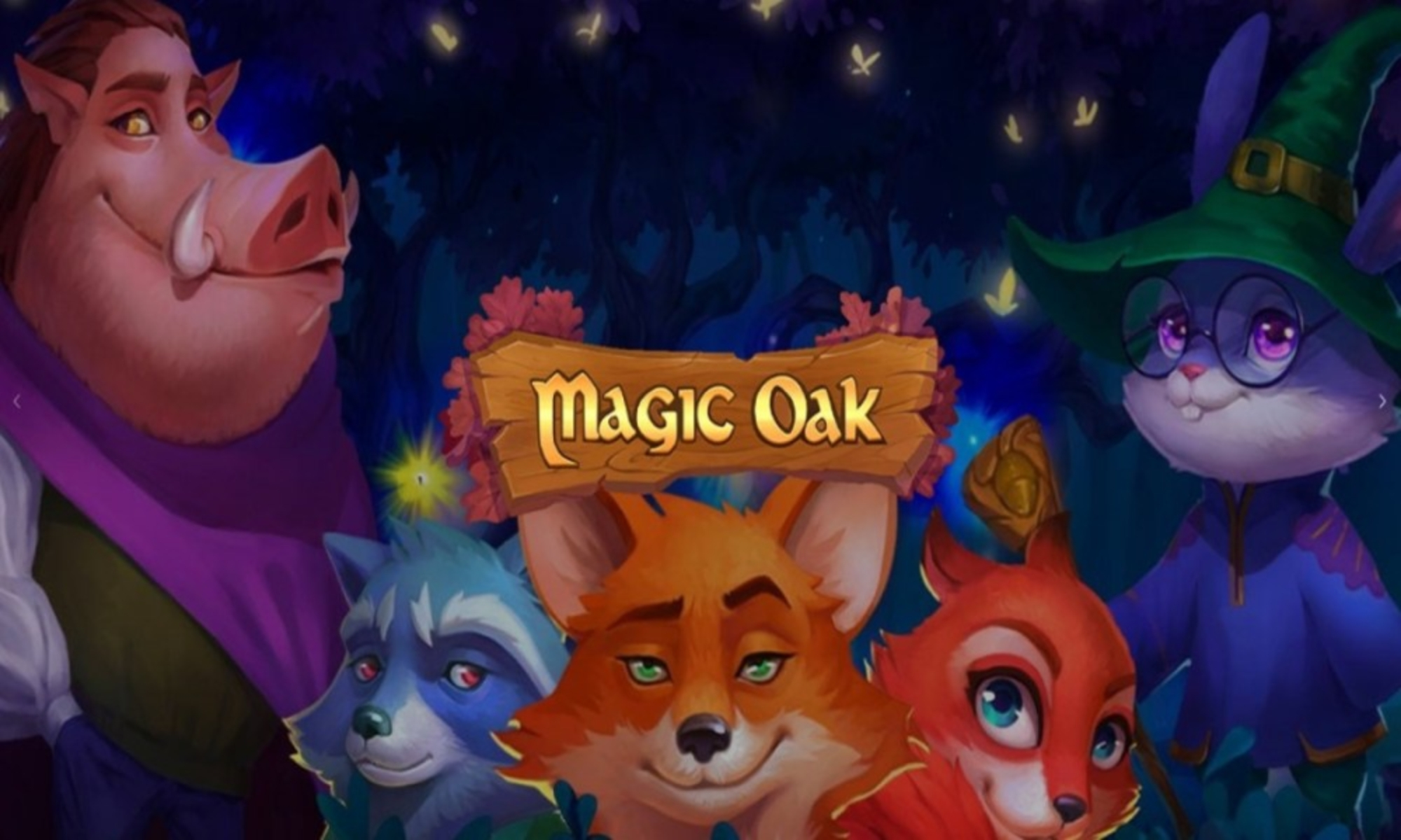 Magic Oak Online Slot Demo Game by Habanero