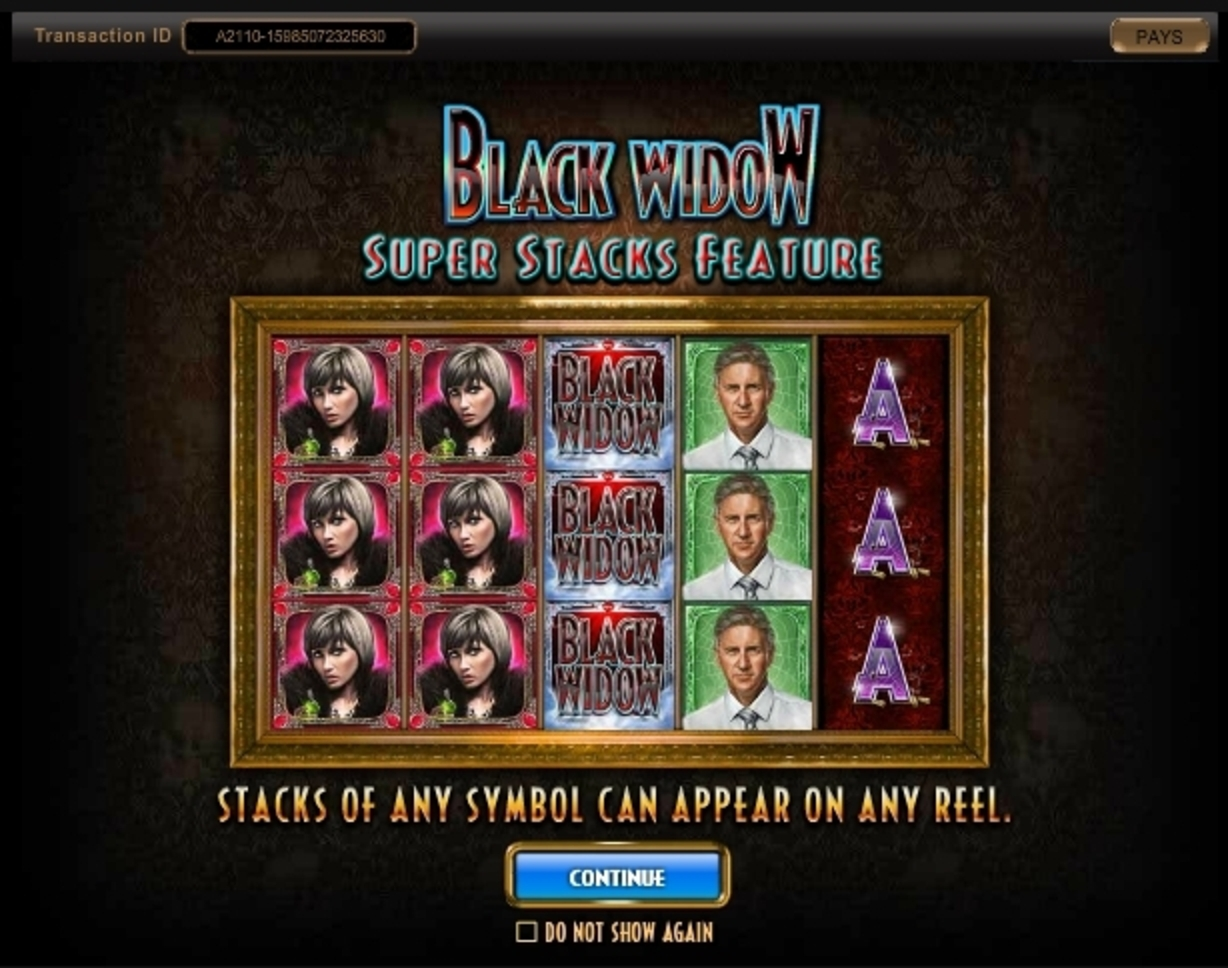 Igt Black Widow Slot Machine