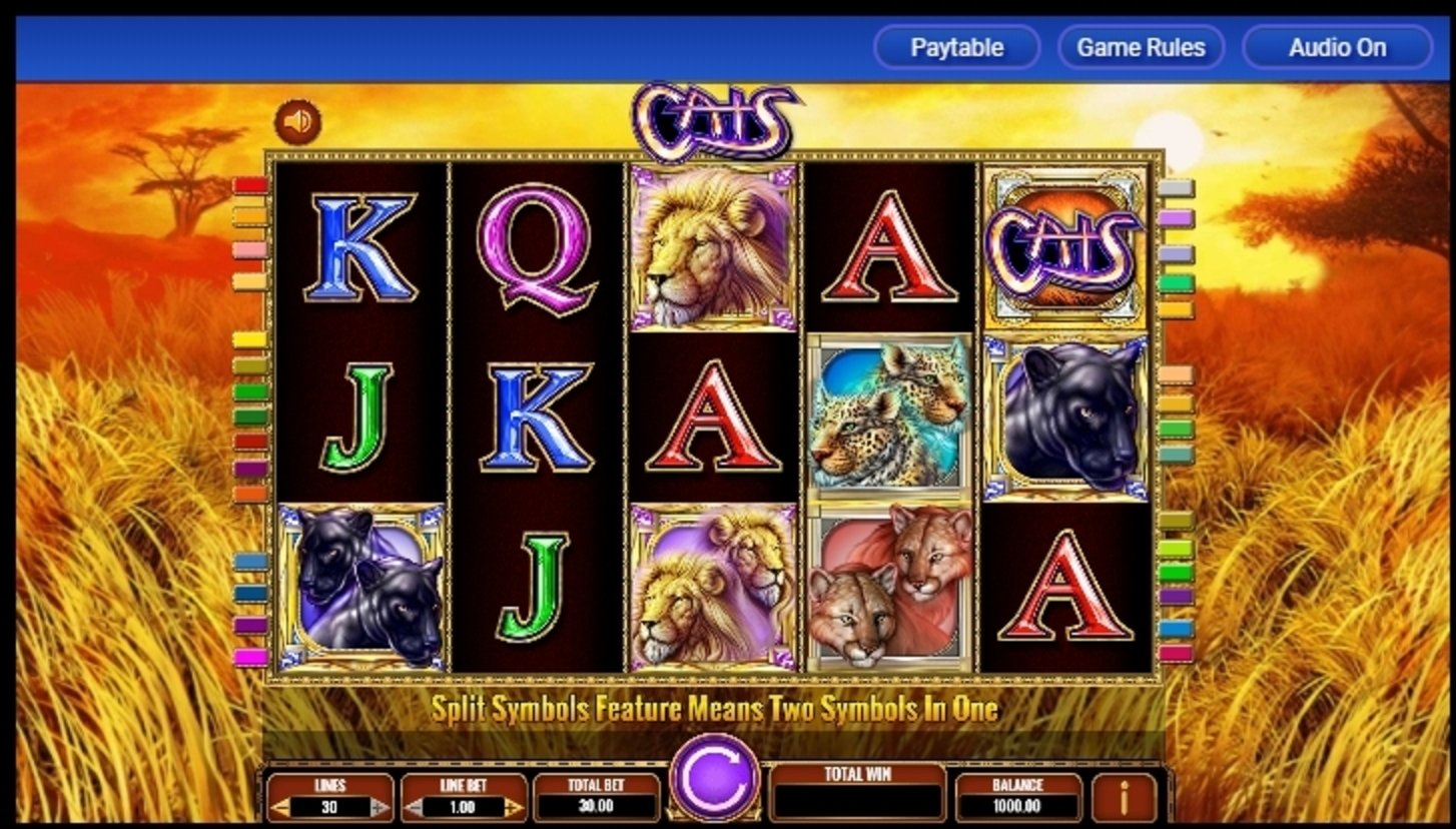 Reels in Cats Slot Game by IGT