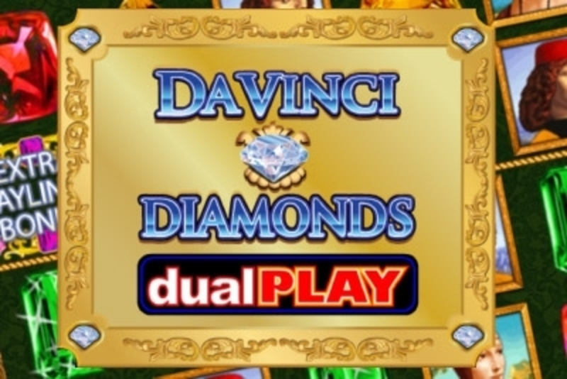 Da Vinci Diamonds Dual Play Online Slot Demo Game by IGT
