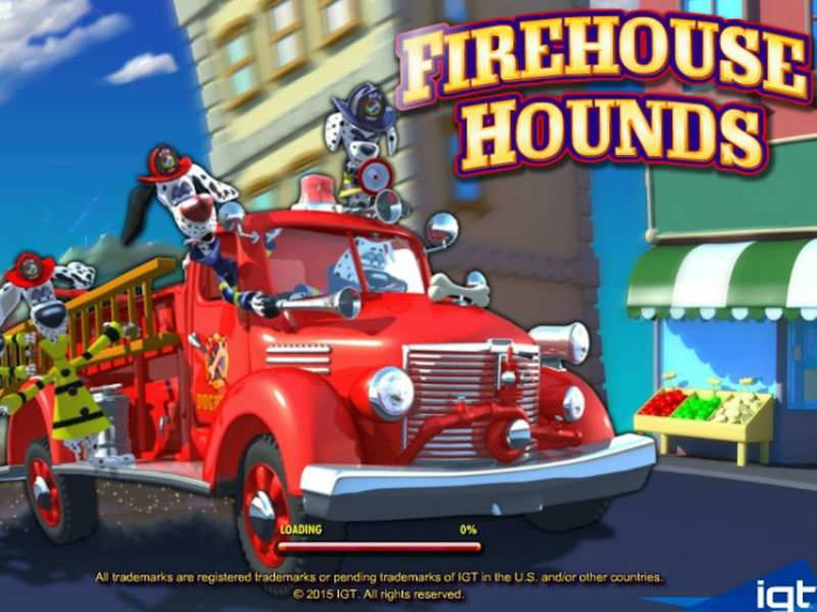 The Firehouse Hounds Online Slot Demo Game by IGT