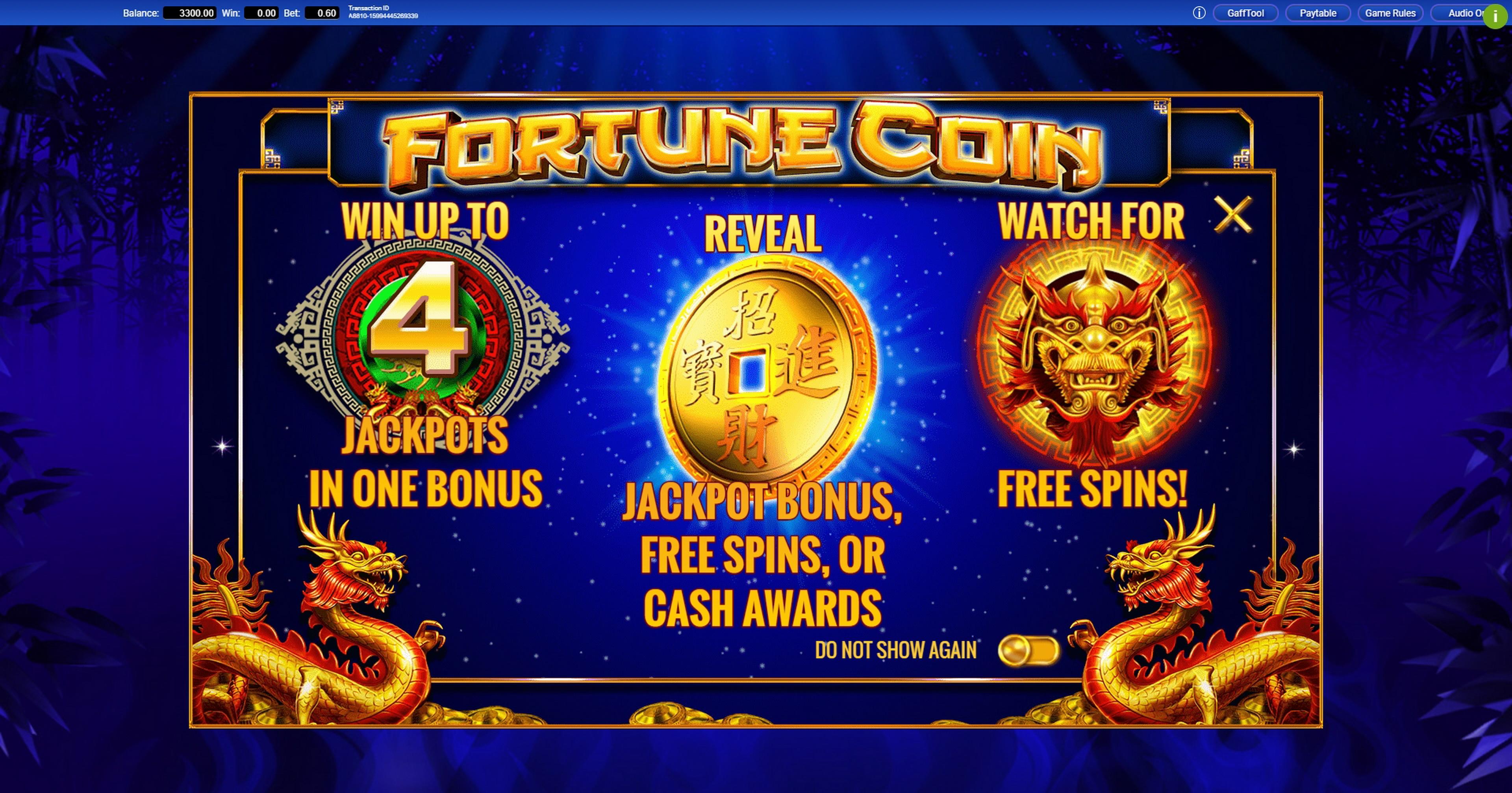 Fortune Coin Slot Machine