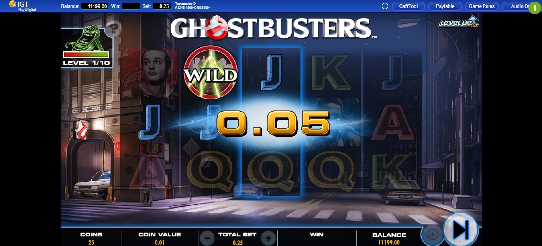 Ghostbusters Plus Slot Machine