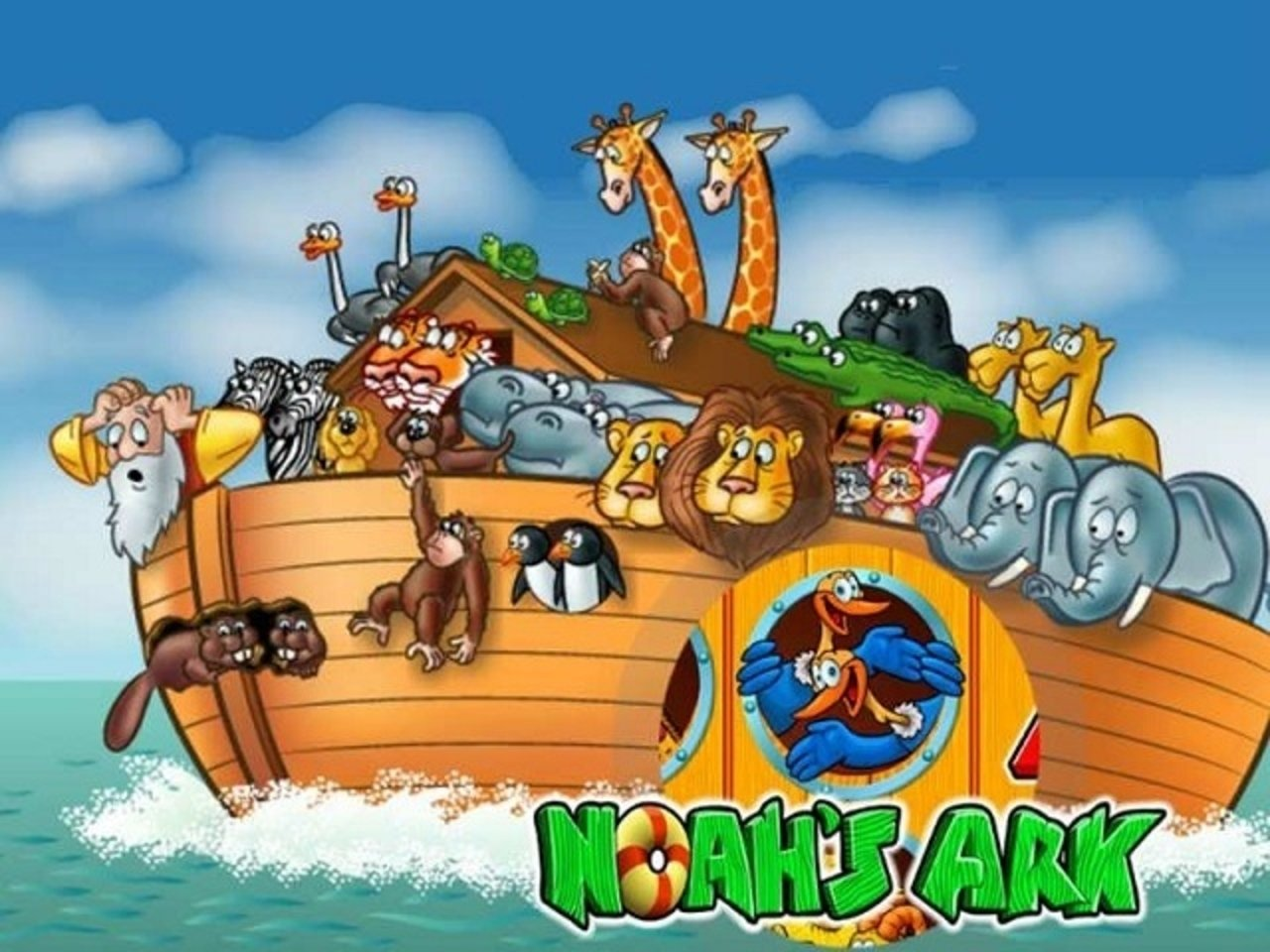 Noah's Ark Online Slot Demo Game by IGT