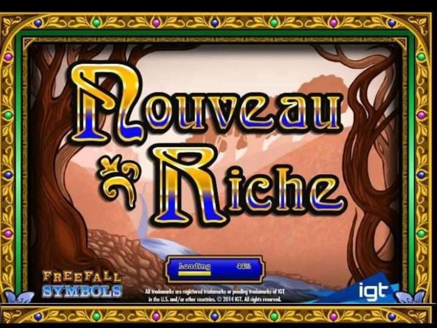Nouveau Riche Online Slot Demo Game by IGT