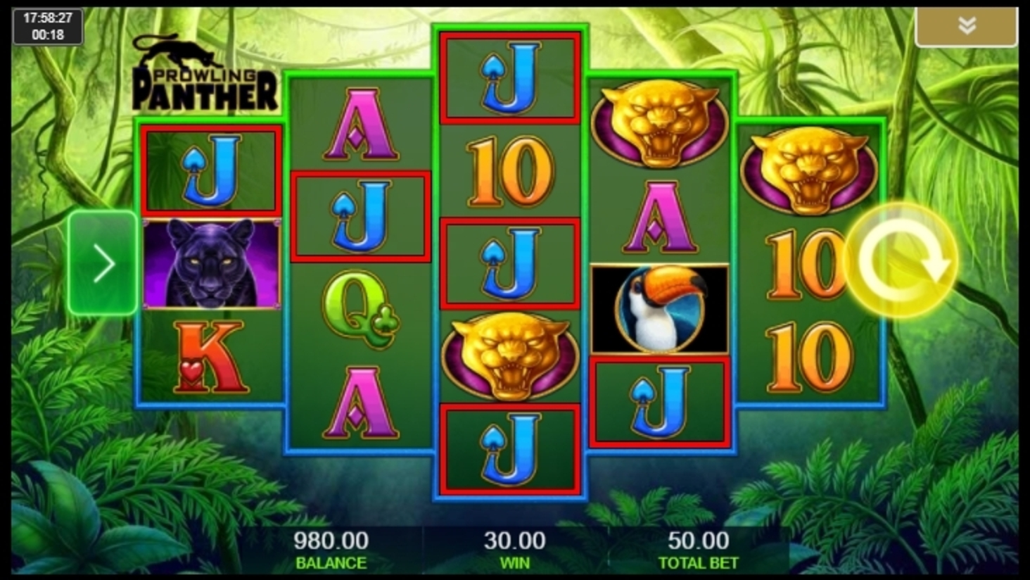 Win Money in Prowling Panther Free Slot Game by IGT