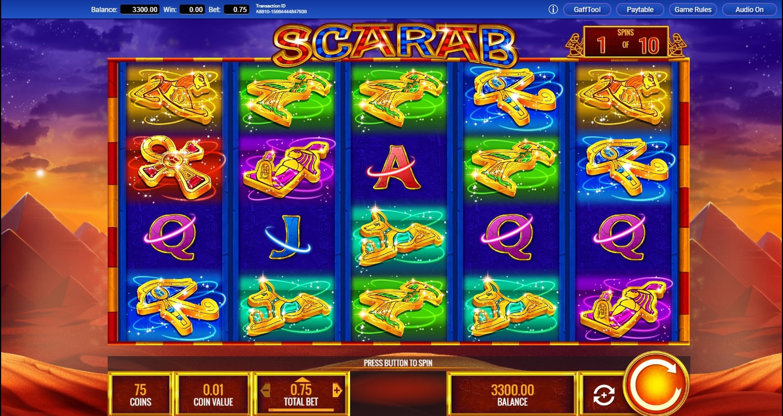 Scarab Stone Slot Machine