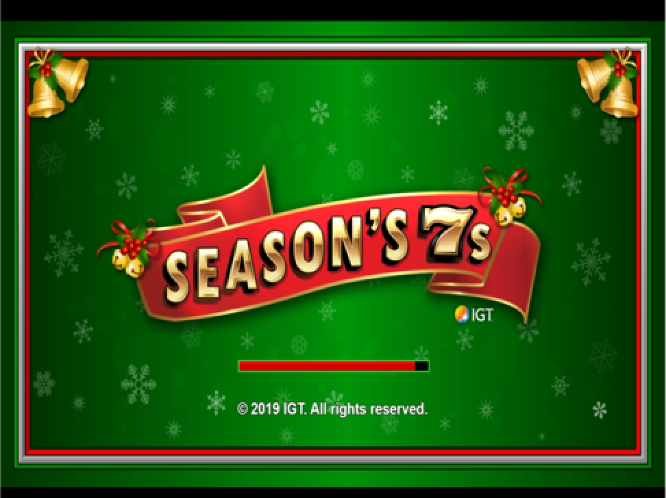 The Season's 7s Online Slot Demo Game by IGT