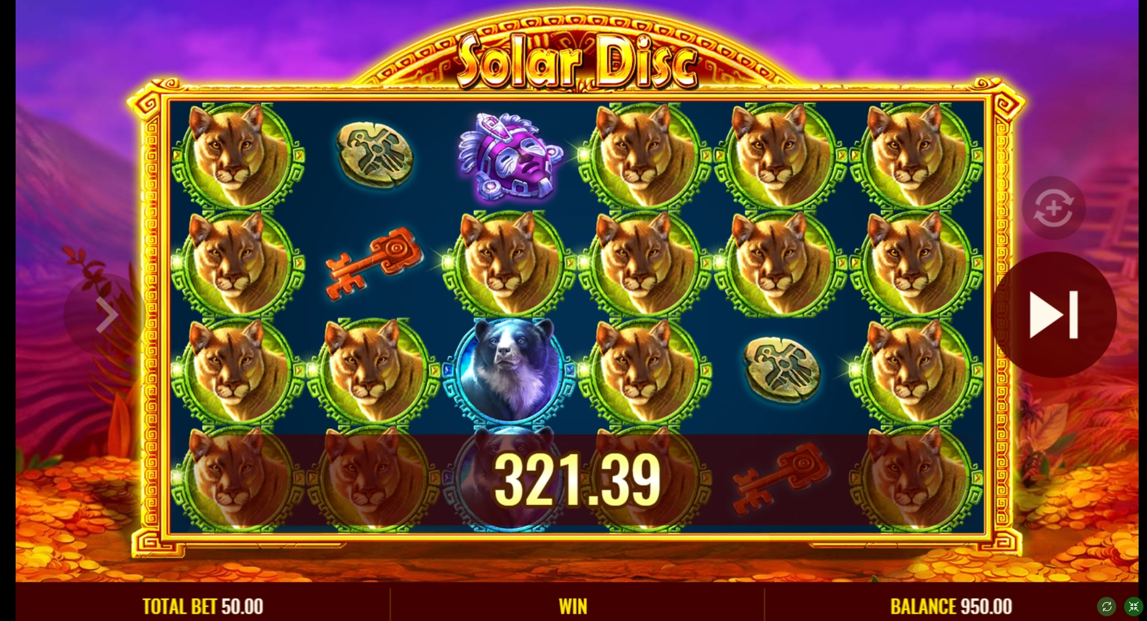 Win Money in Solar Disc Free Slot Game by IGT