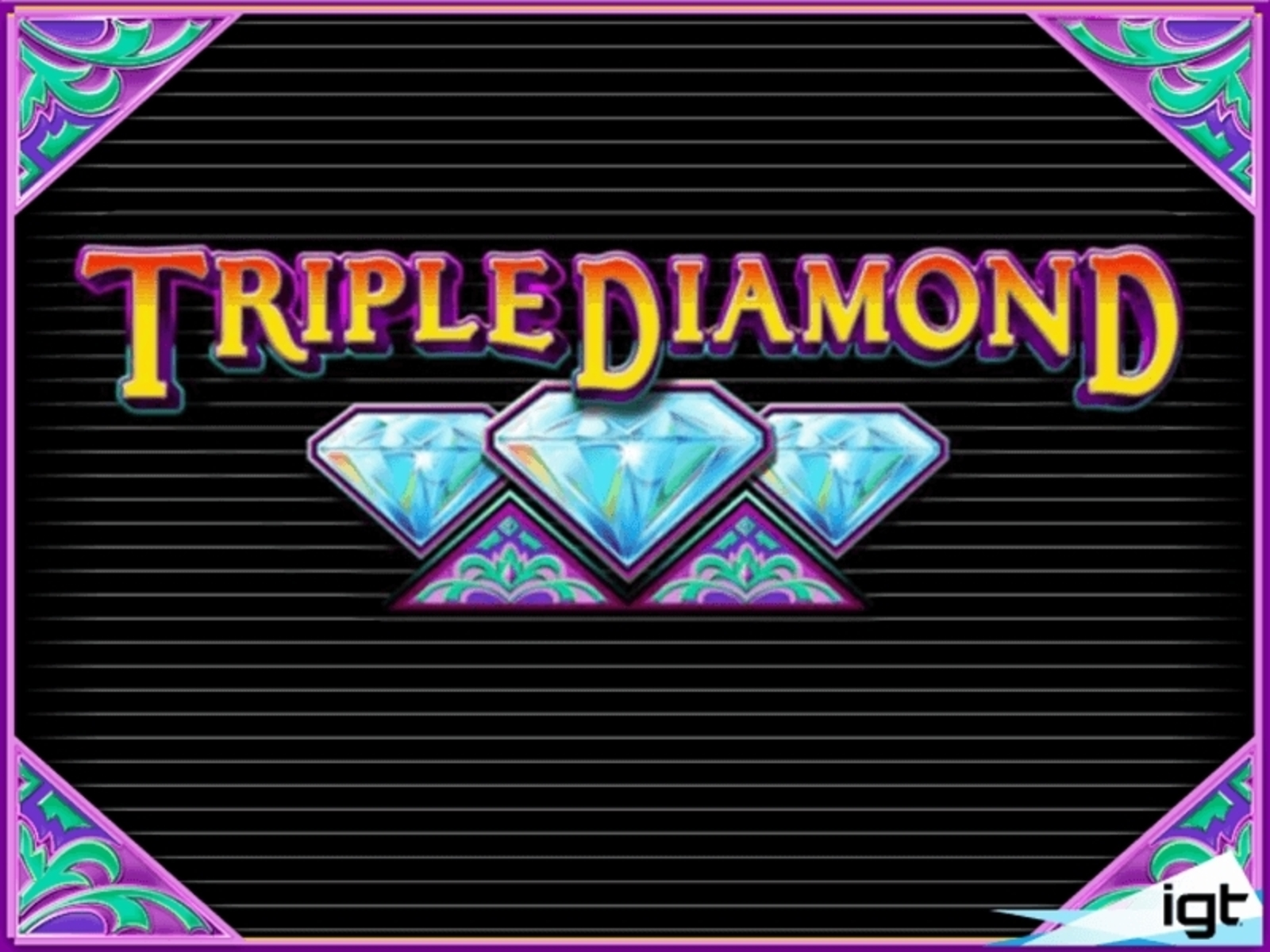 Triple Diamond Online Slot Demo Game by IGT