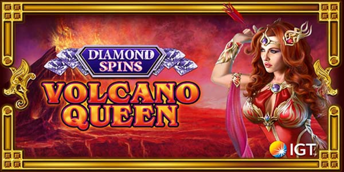 The Volcano Queen Diamond Spins Online Slot Demo Game by IGT