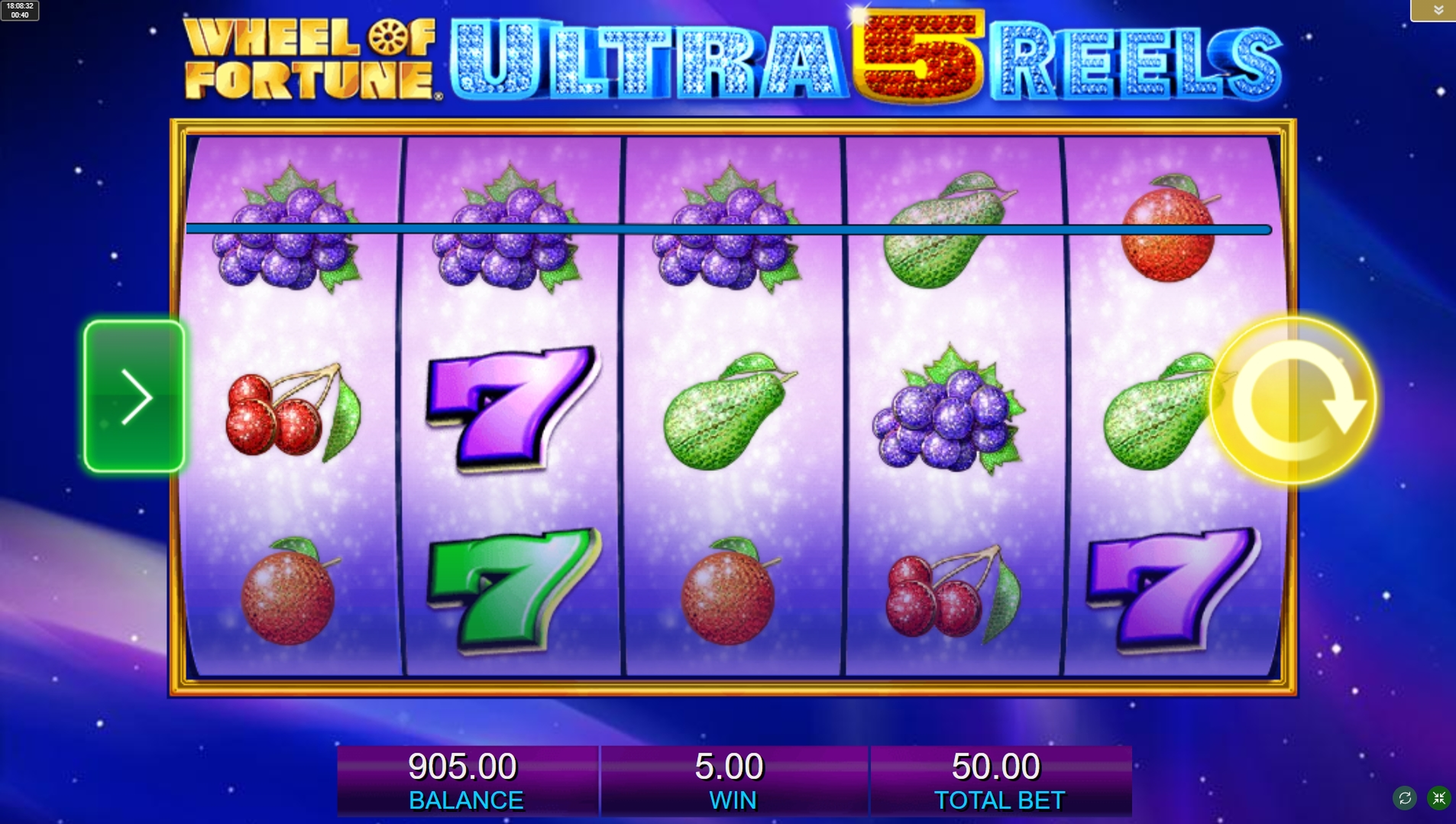 Wheel Of Fortune Ultra 5 Reels Slot Machine