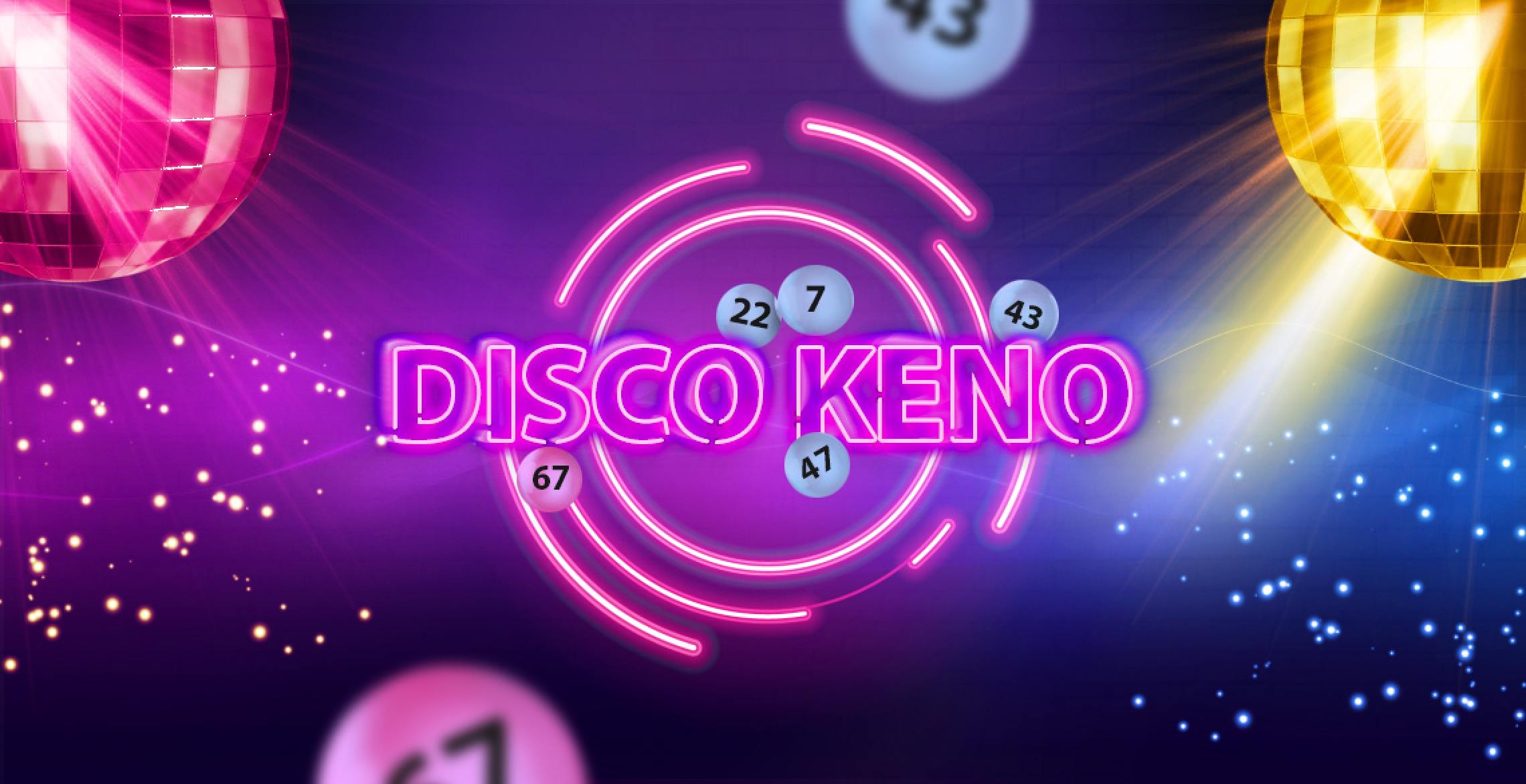 Disco Keno Online Slot Demo Game by Inbet Games