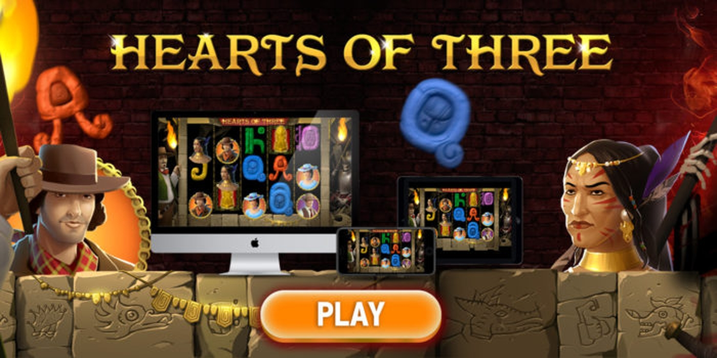 Hearts of Three Online Slot Demo Game by Inbet Games