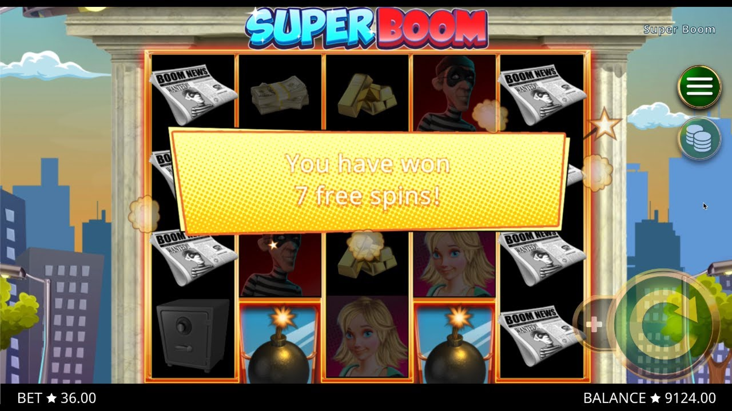 The Super Boom (PlayStar) Online Slot Demo Game by PlayStar