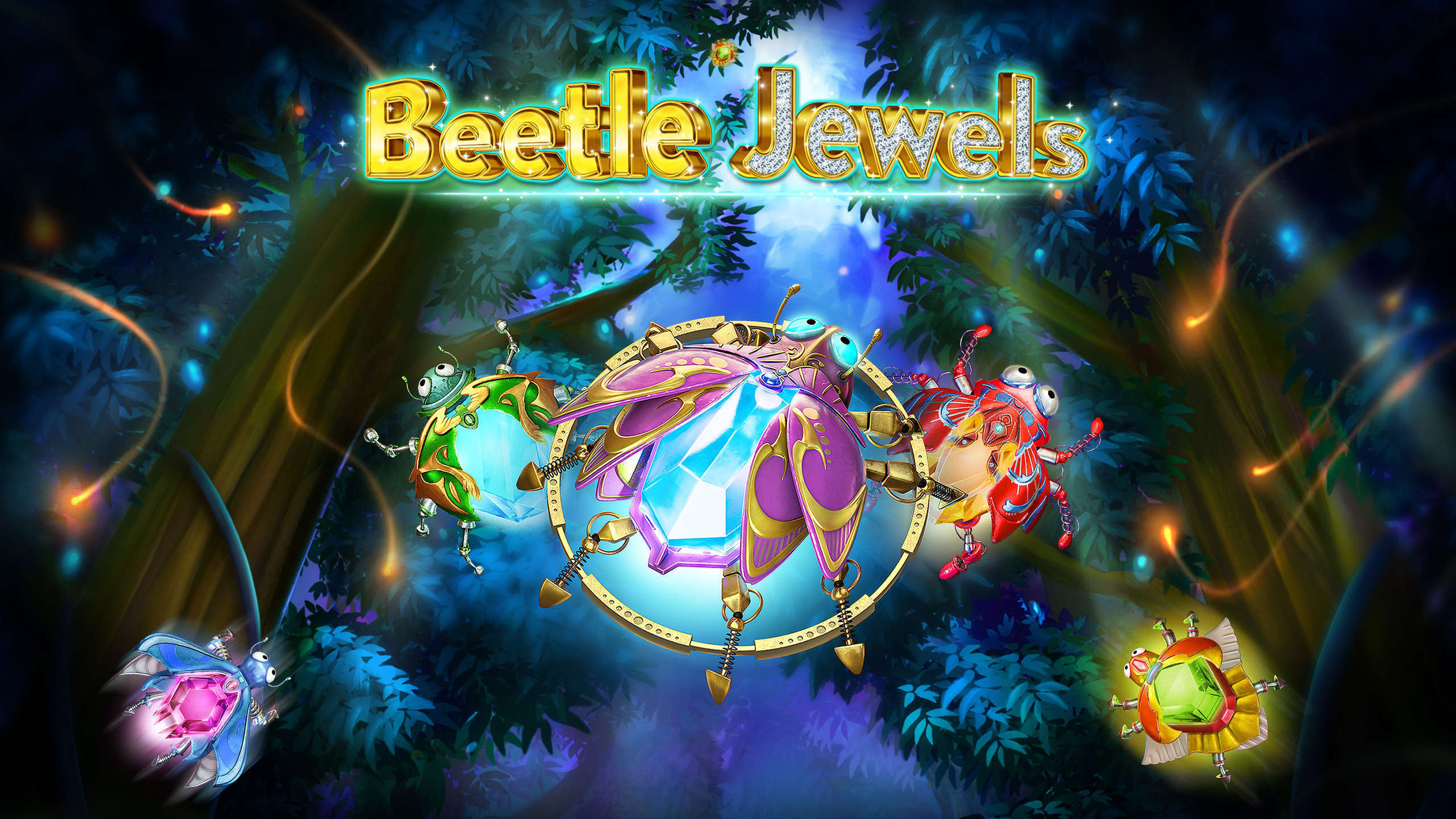 The Beetle Jewels Online Slot Demo Game by iSoftBet