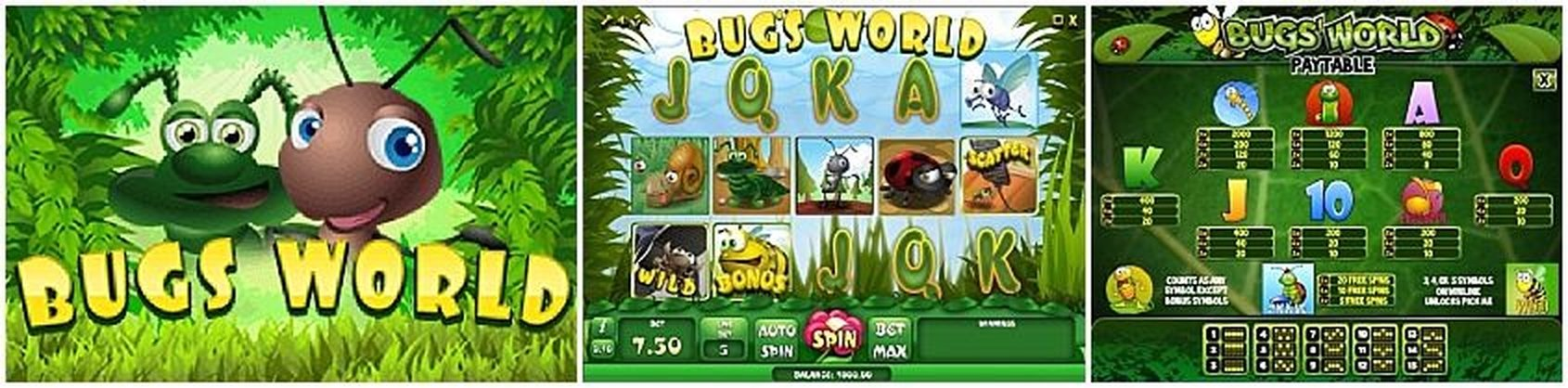 The Bug's World Online Slot Demo Game by iSoftBet