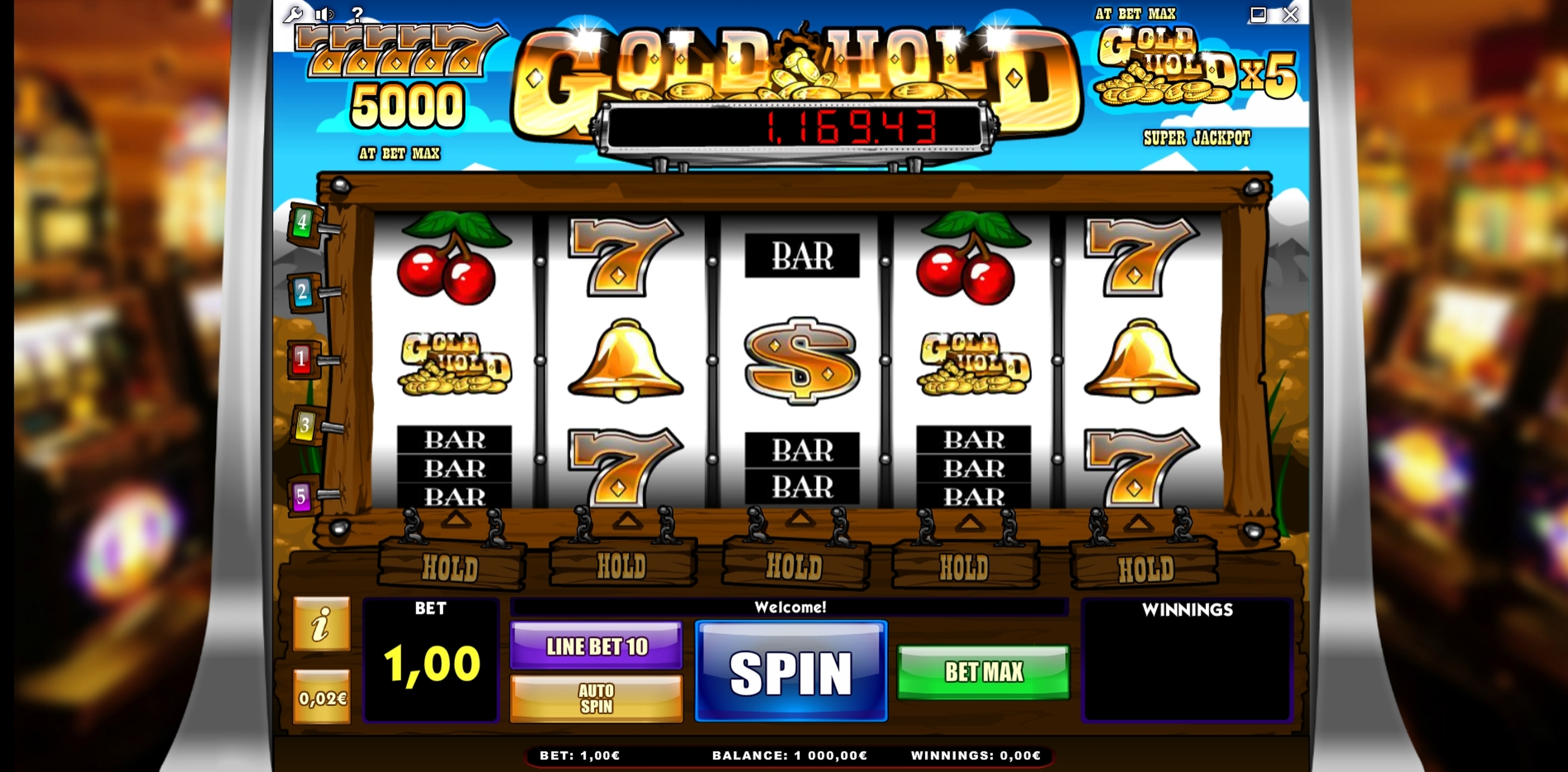 Reels in Gold Hold Slot Game by iSoftBet
