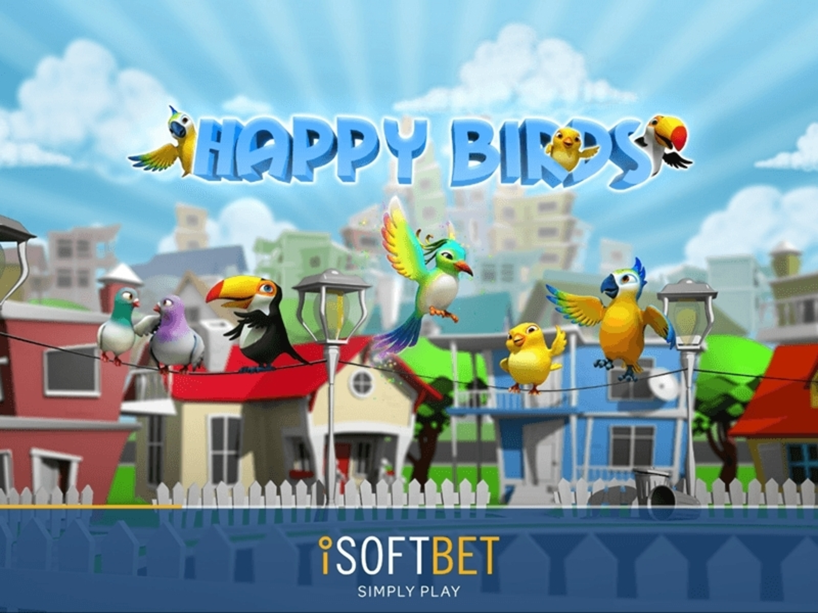 Happy Birds Online Slot Demo Game by iSoftBet