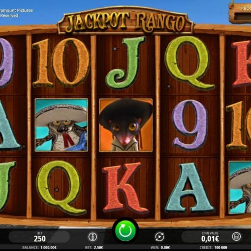 Jackpot Rango Slot Machine