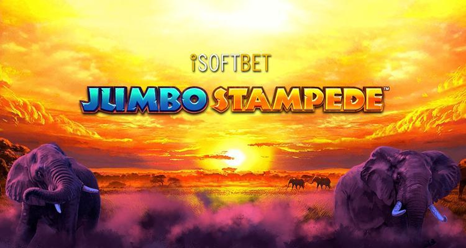 The Jumbo Stampede Online Slot Demo Game by iSoftBet