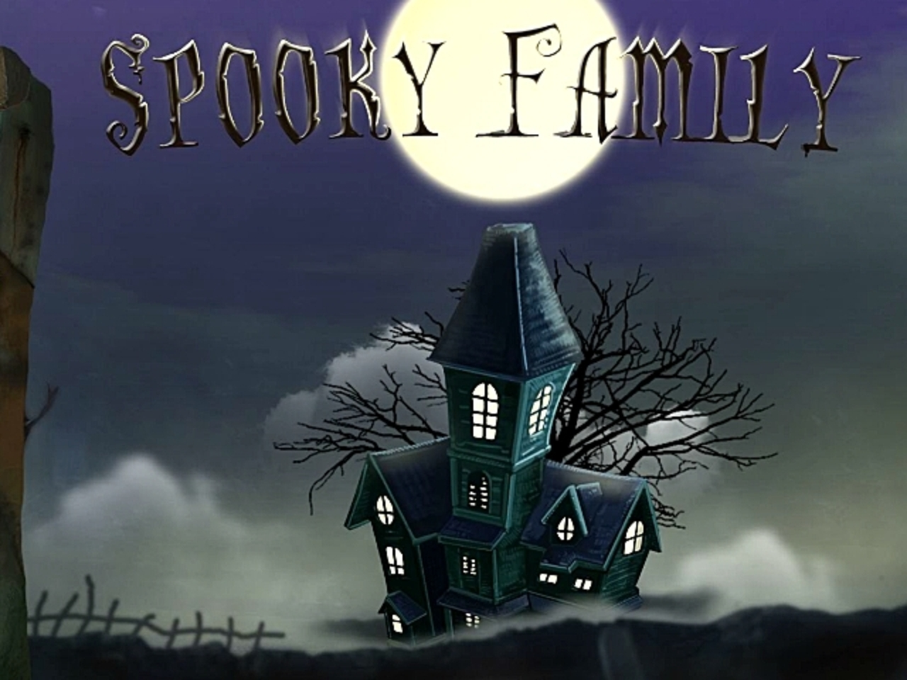 Spooky Family Online Slot Demo Game by iSoftBet
