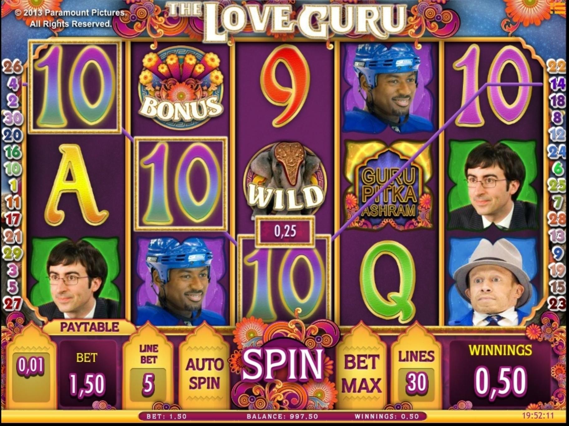The Love Guru Slot Machine