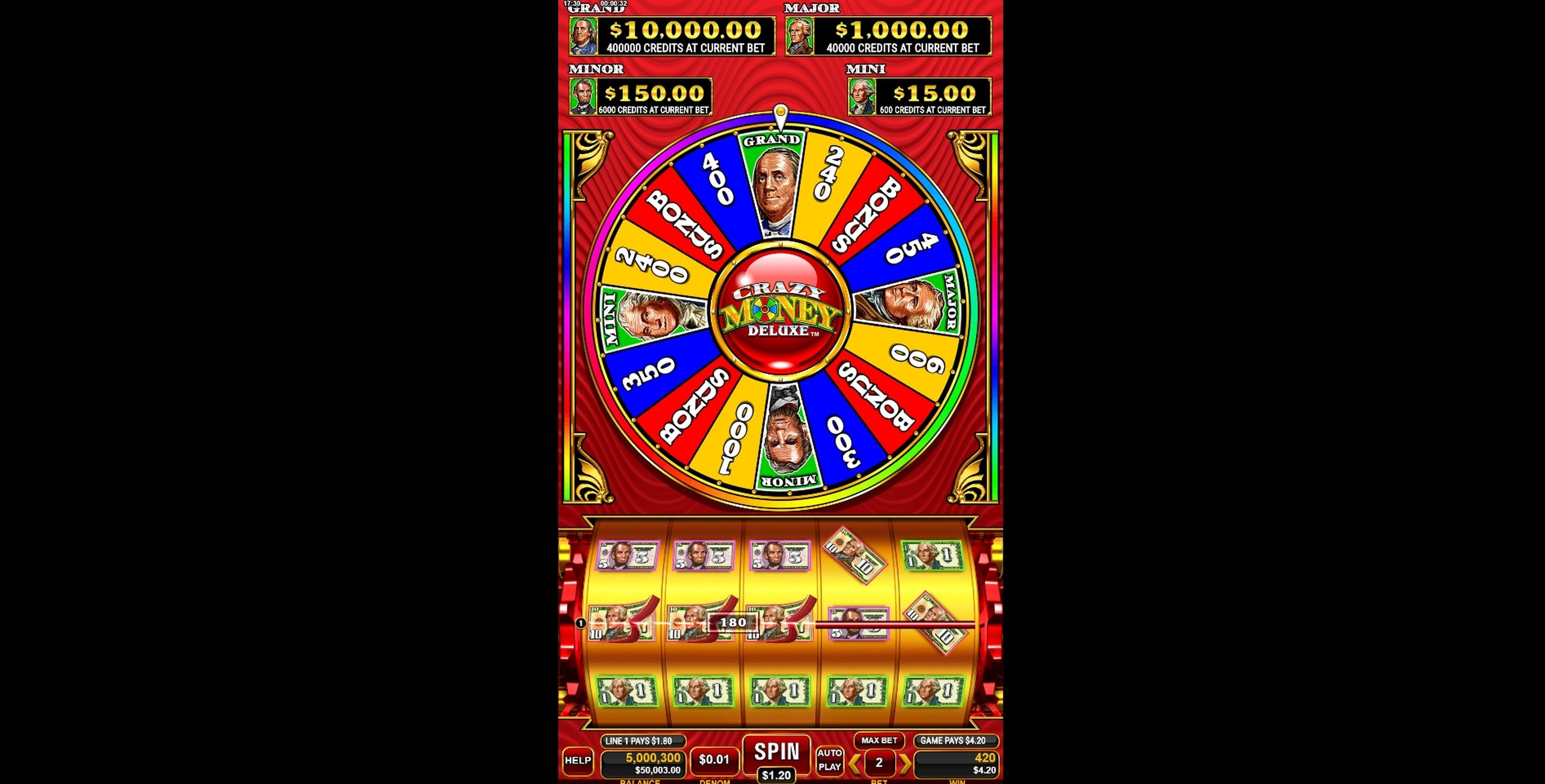 Slot Machine Deluxe Coins