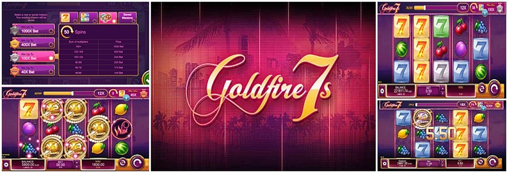 The Goldfire 7s Missions Online Slot Demo Game by Kalamba Games